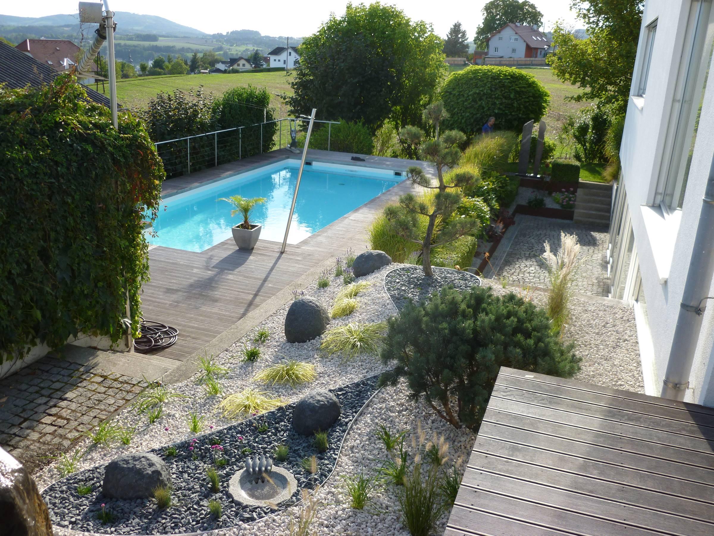 Gartengestaltung oberhuber ihr g rtner in linz o for Gartengestaltung landhaus